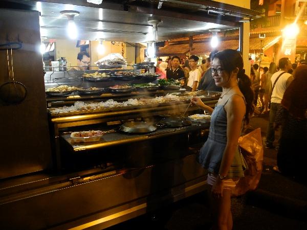 Hot Pot at the Night Market in Jonker Street