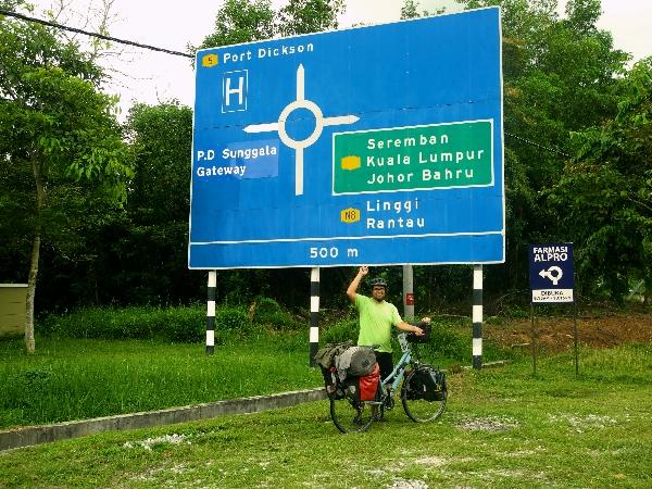 Heading towards Port Dickson!