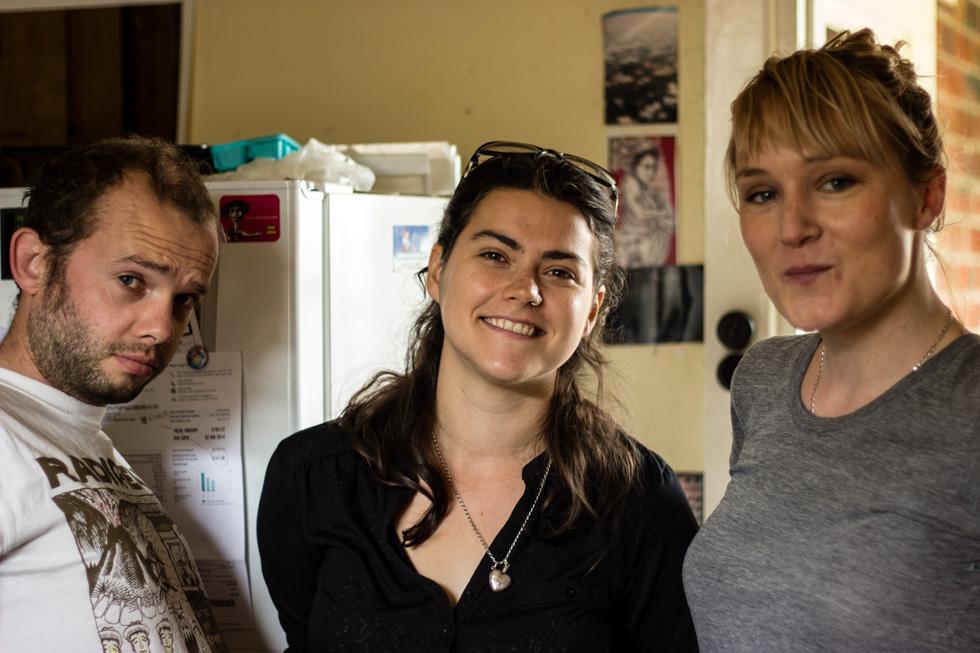 Sherlock, Eloise y Sarah