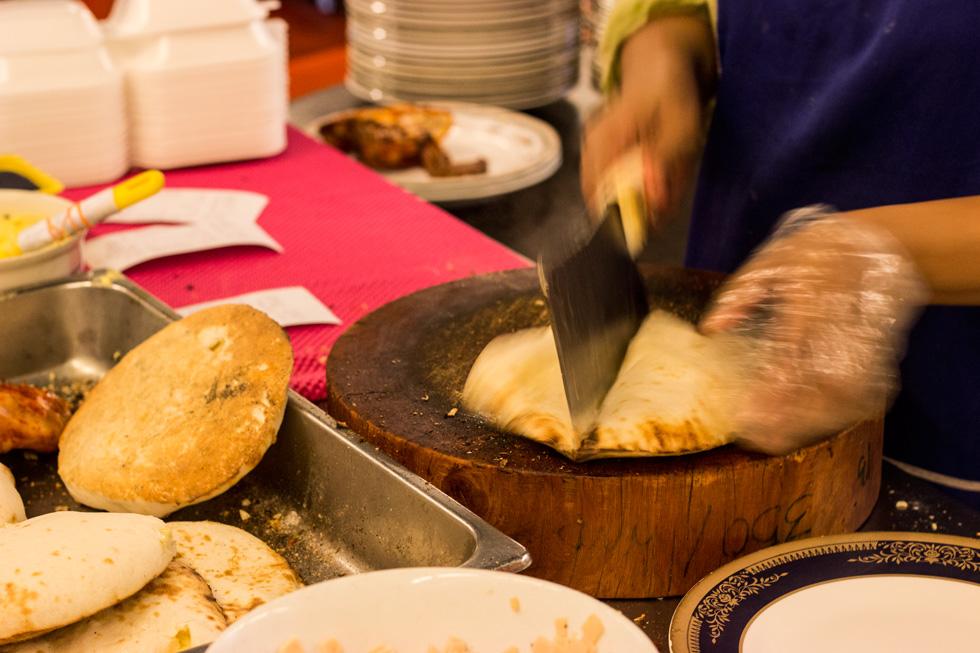 Habemus Cheese Naan