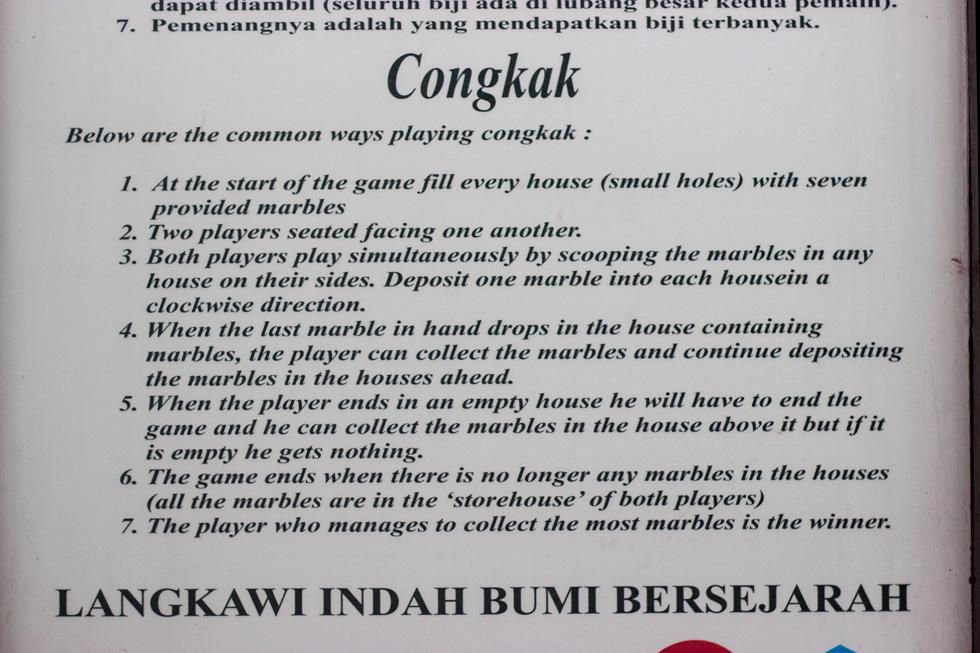 Congkak Spielregeln