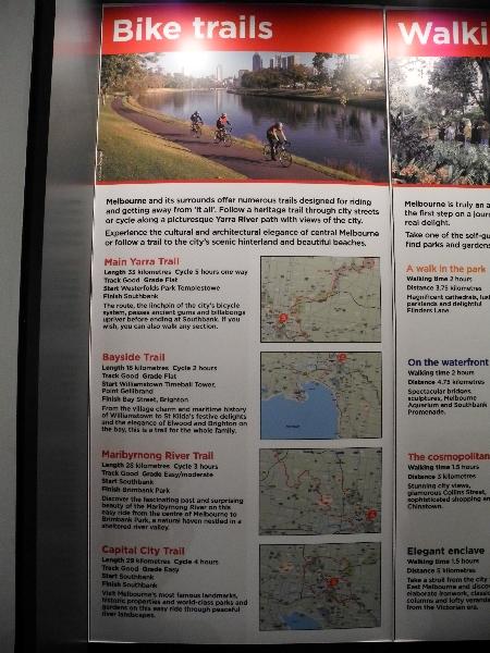 Melbourne's bike trails
