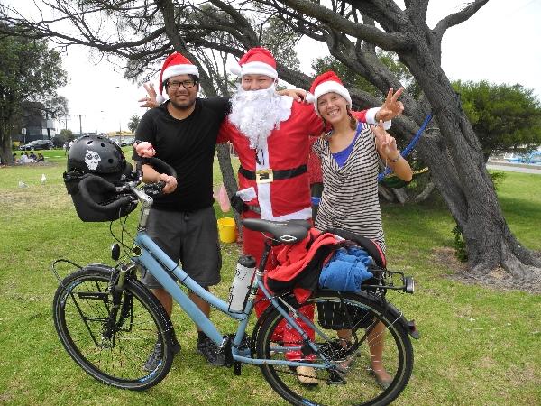 Encounter with Santa Claus