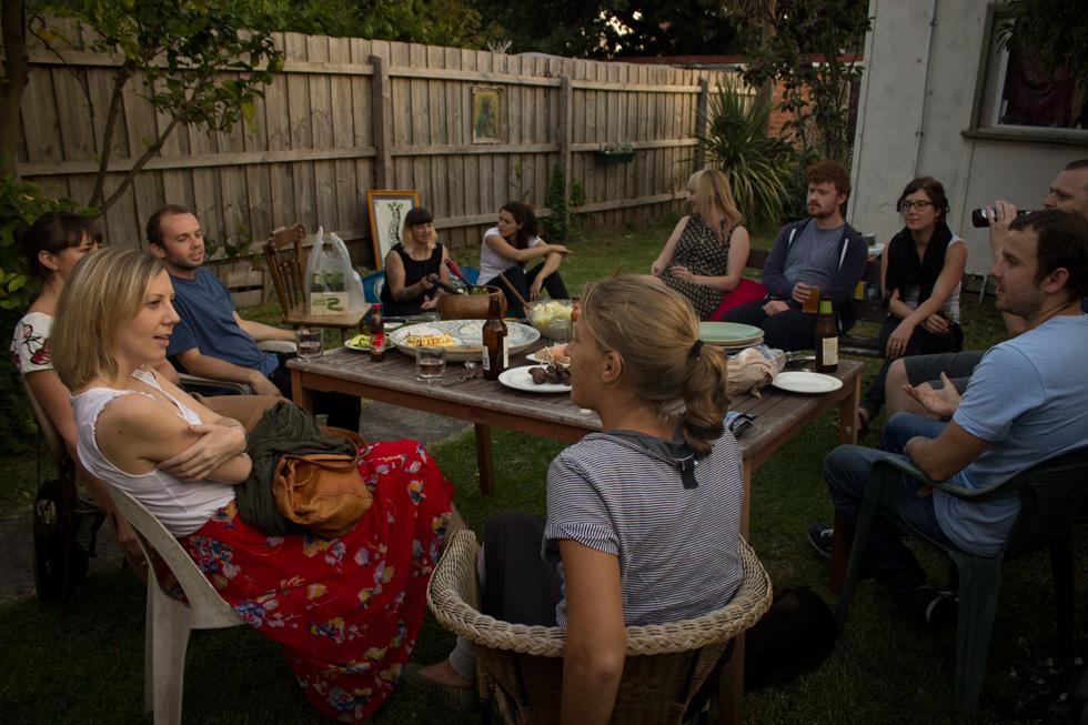 BBQ con Amigos Nuevos