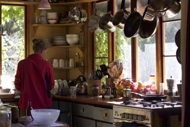 In James' kitchen
