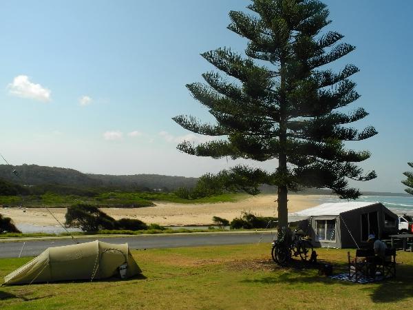 Camping in Dalmeny