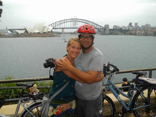 By bike to Sydney