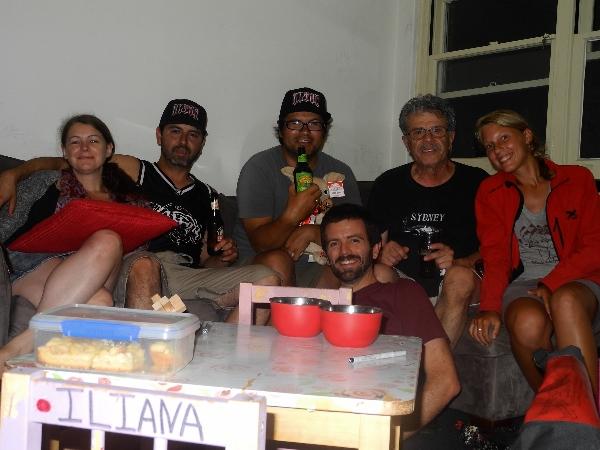 With Kara, Peque, Jose and Mark