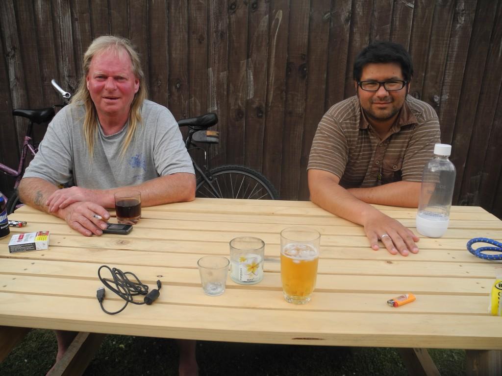 Roberto und Alan