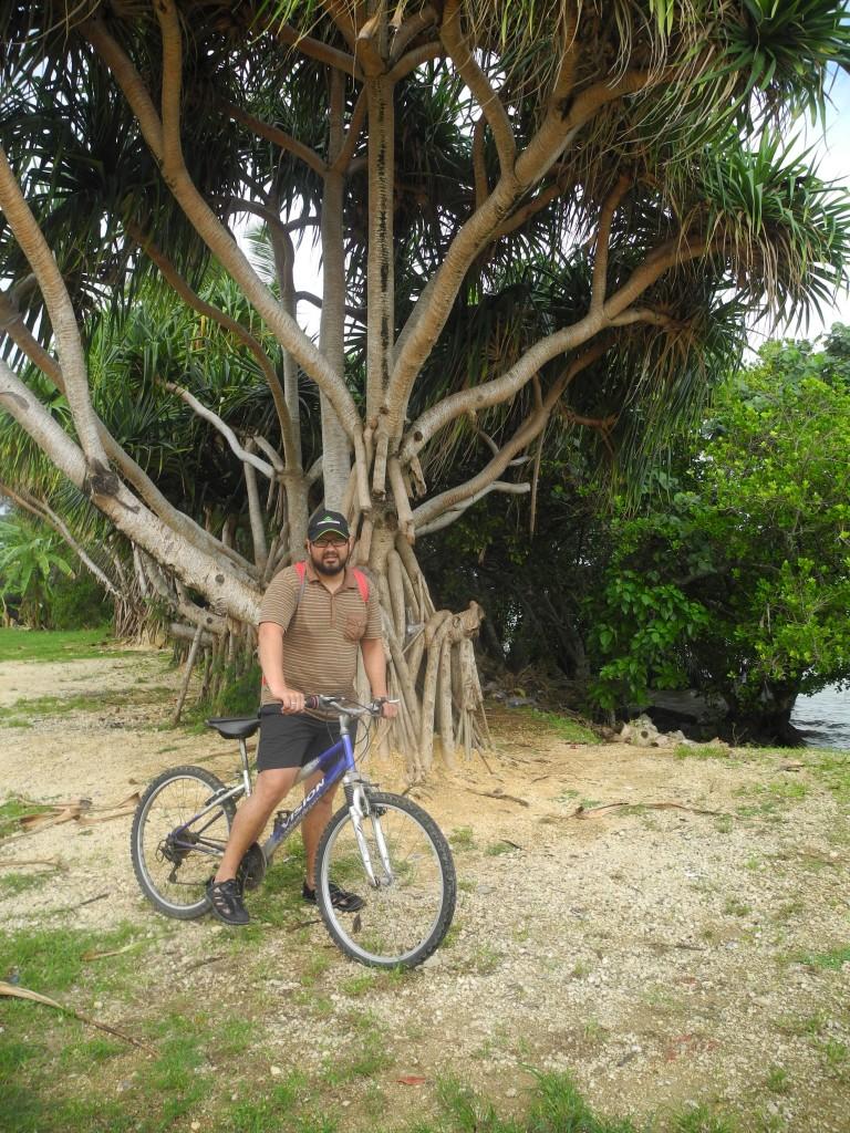 Bike trip to the East of Tongatapu