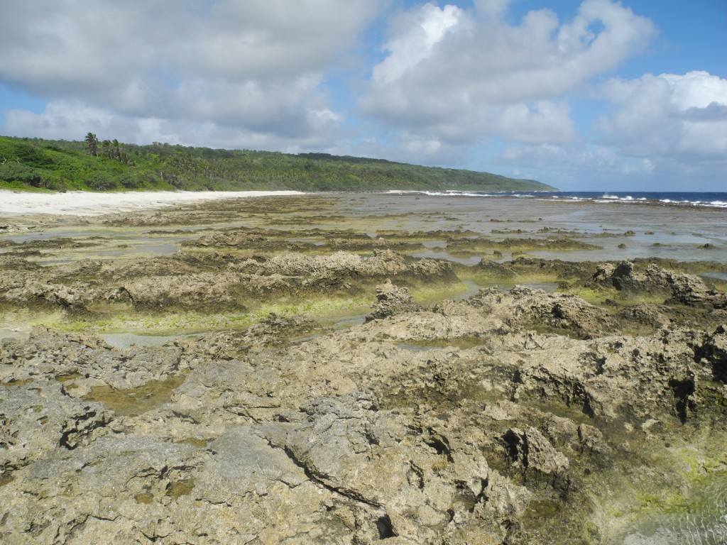 Backpacking Ha'aluma beach in 'Eua