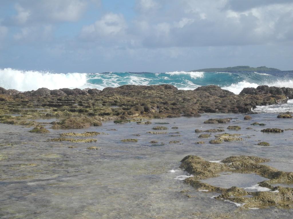 Ha'aluma beach in 'Eua