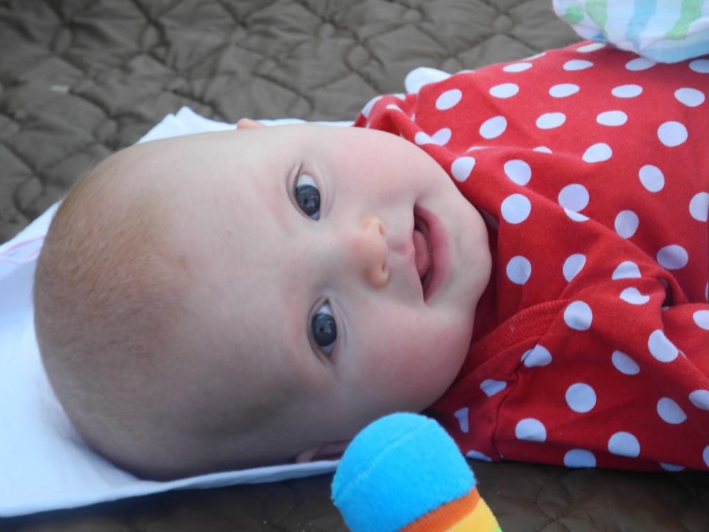 Sweet little Isla