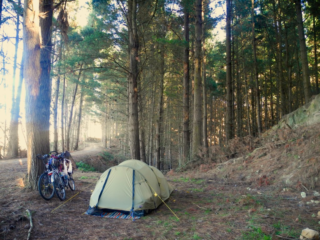 Our Wild Camping Spot