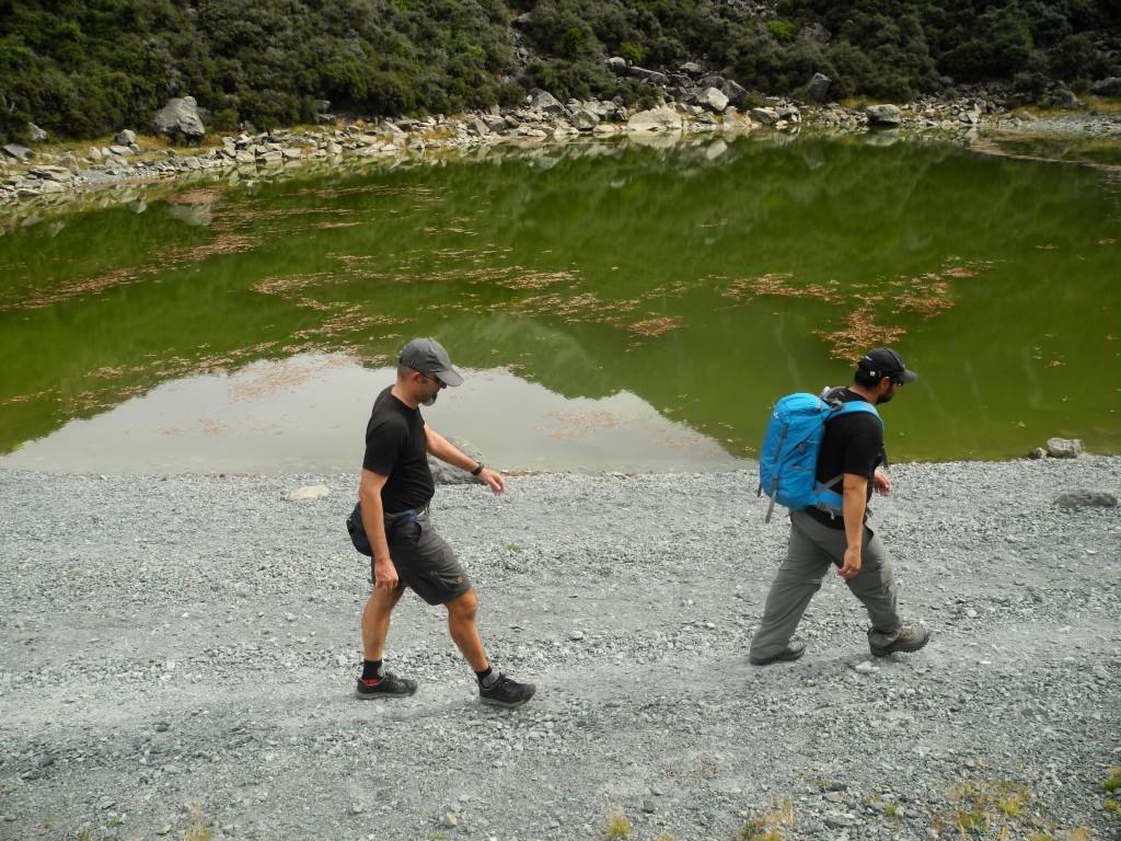 Wandern im Mount Cook