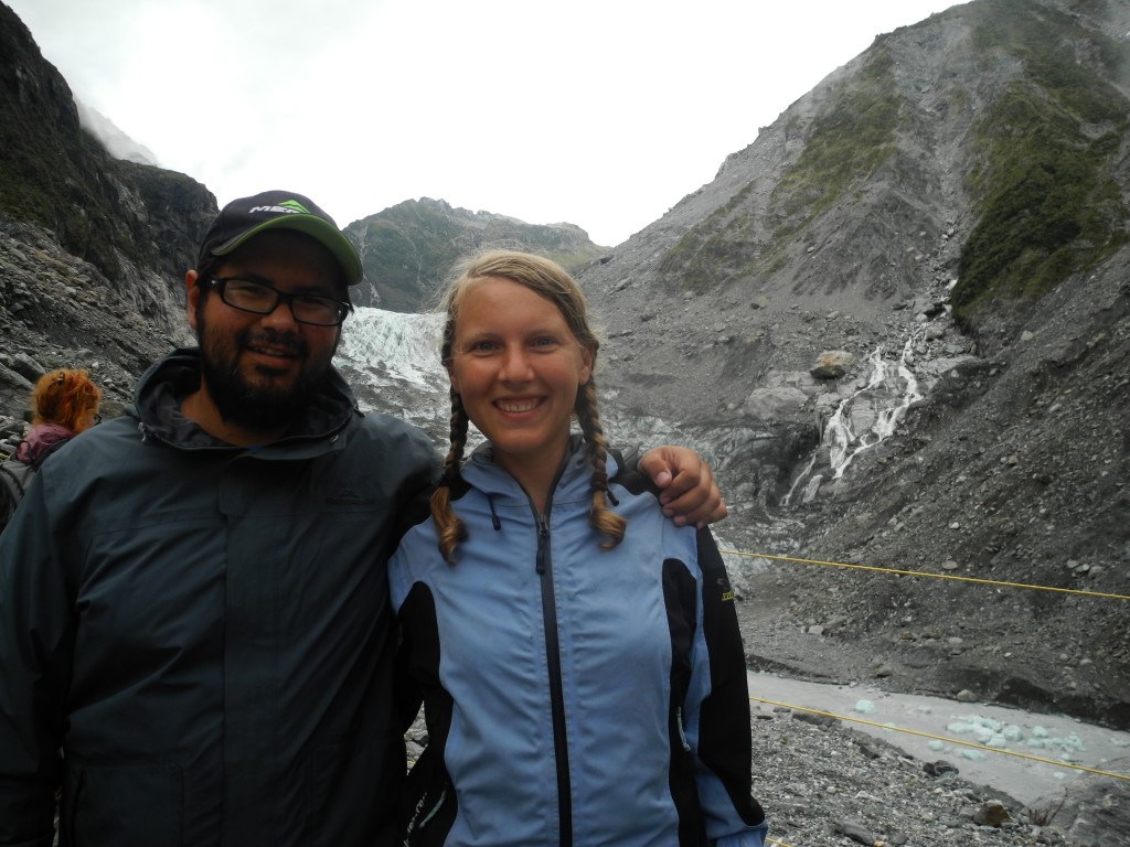 The Fox Glacier was definitely worth the ride and the hike.