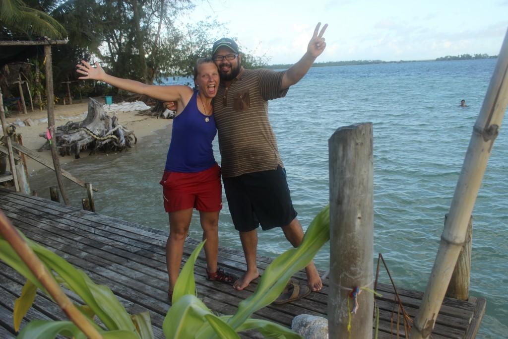 The best beach day ever in Pangaimotu Island