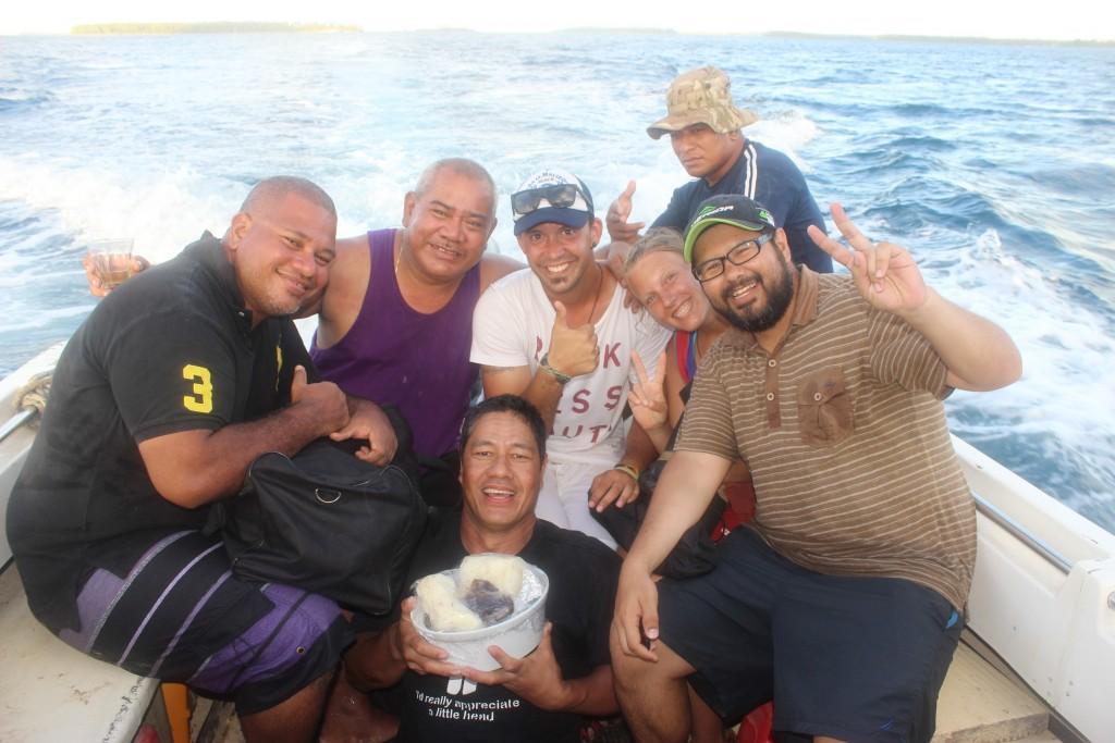 Ferry from Pangaimotu Island to Nuku'alofa