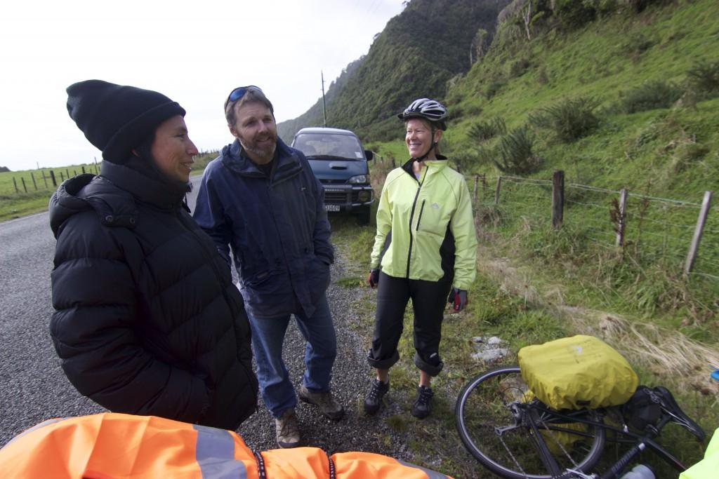 Silvia, Justin and Ruth