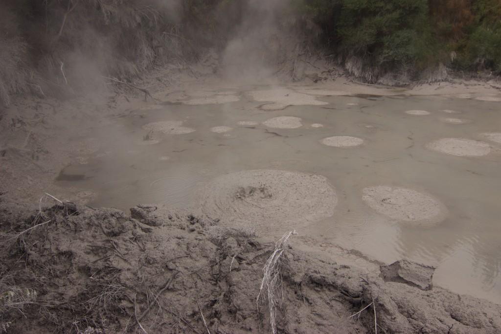 Boiling Hot Mud