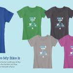 Tasting Travels Tshirt Funding Campaign Woman