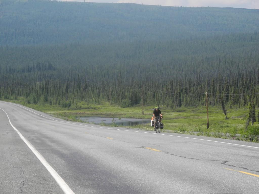 Cycling the Glenn Highway