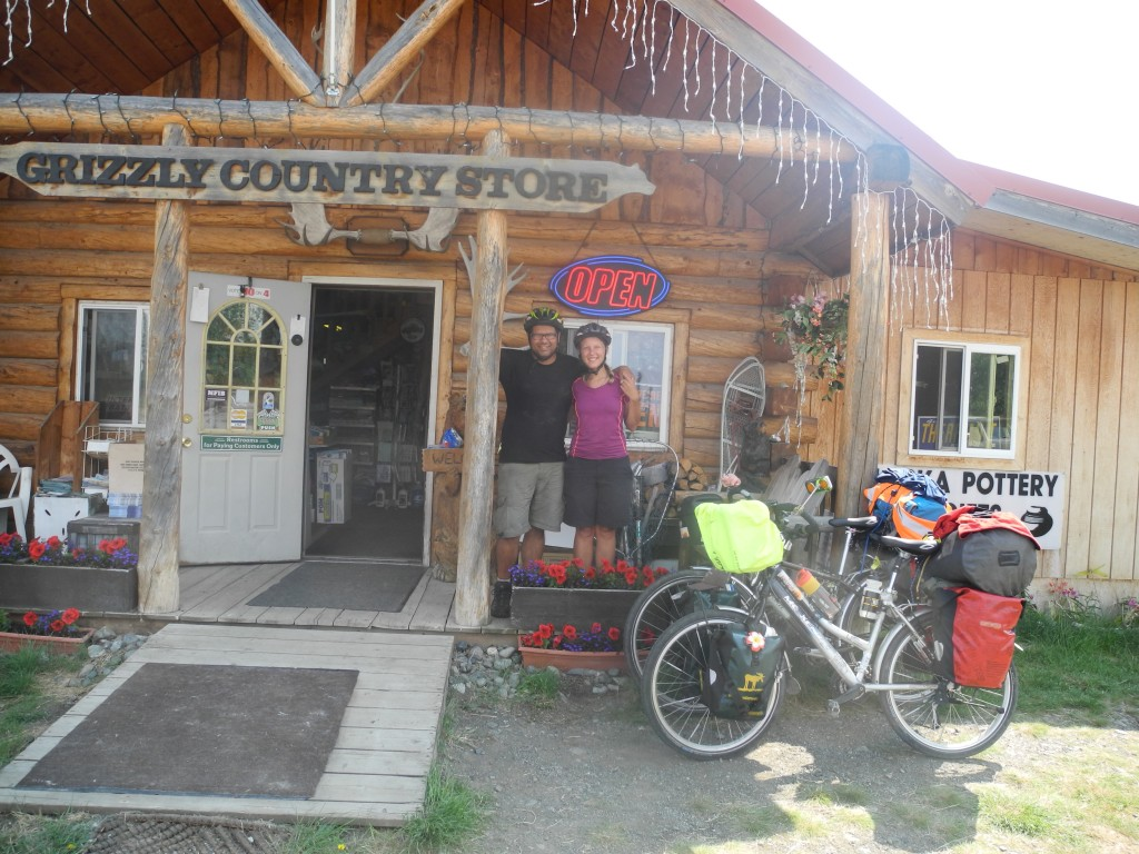 Chris and Maria built the Grizzly Country Store in Alaska