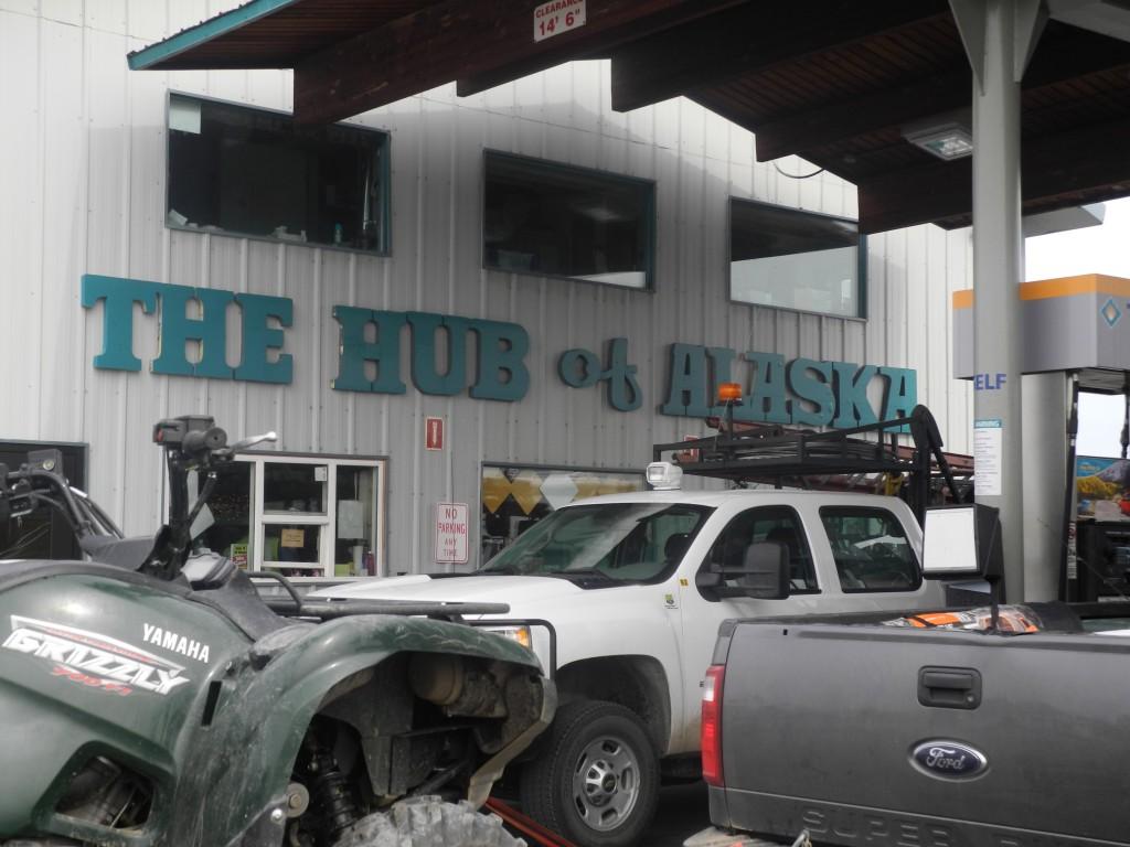 """The Hub of Alaska"""