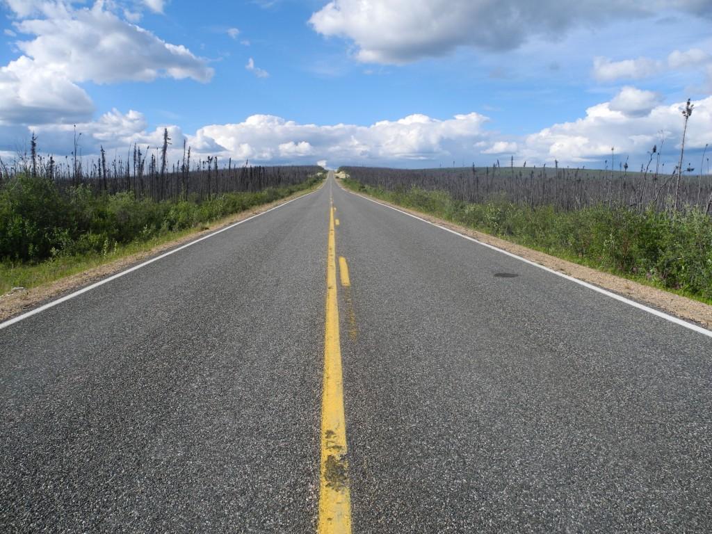 On the Taylor Highway, Alaska