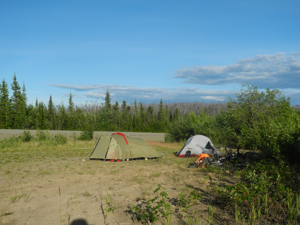 Camping on the Taylor Highway