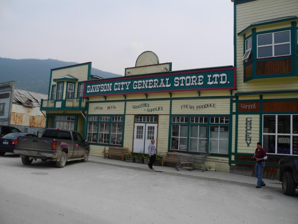 Dawson City's general store.