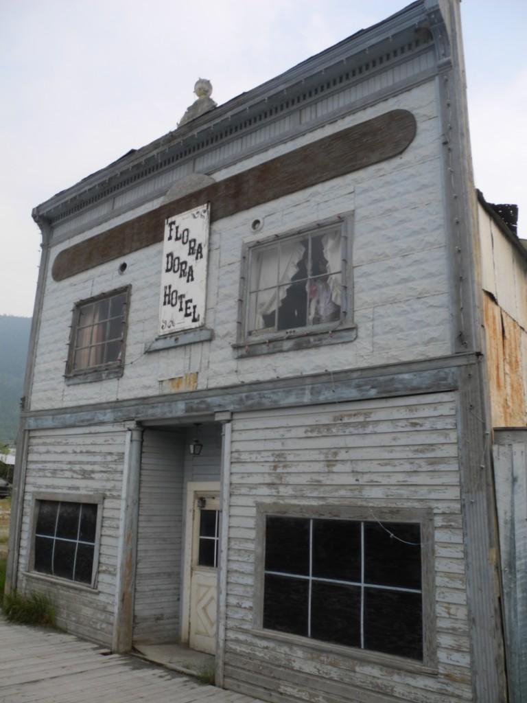 Dora Dora Hotel in Dawson City, Yukon
