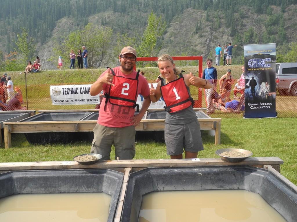Panning Gold in Dawson City