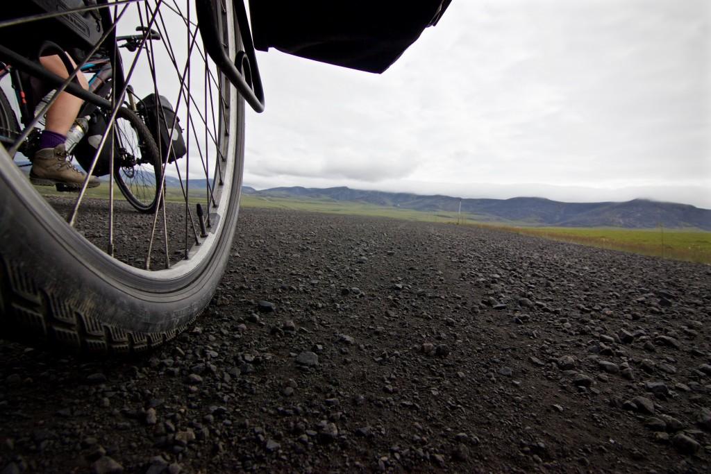 Dempster by bike