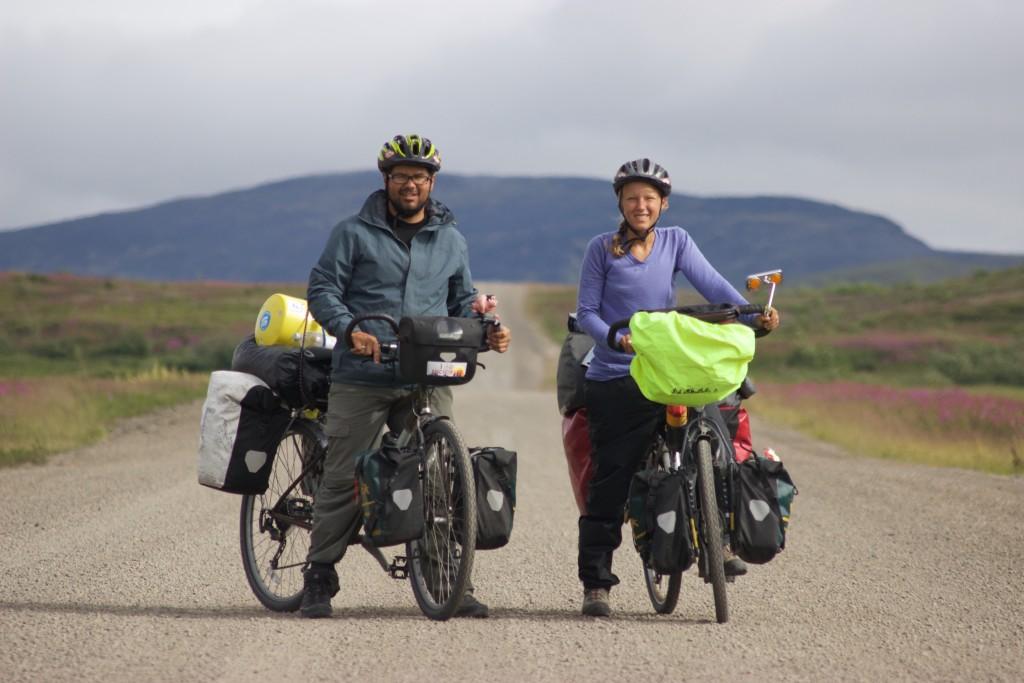 Biking the Dempster