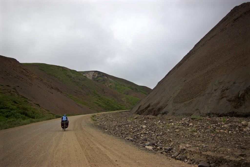 "Biking up through the canyon, aka ""the last climb"""