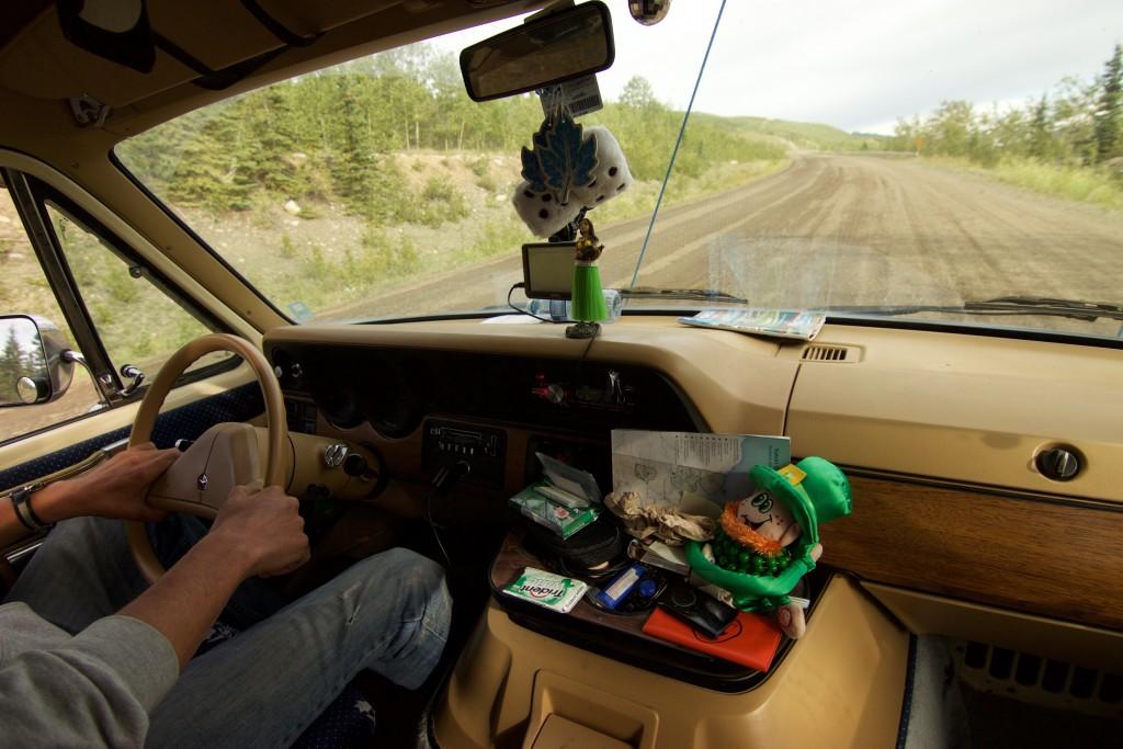 Interior del Carro