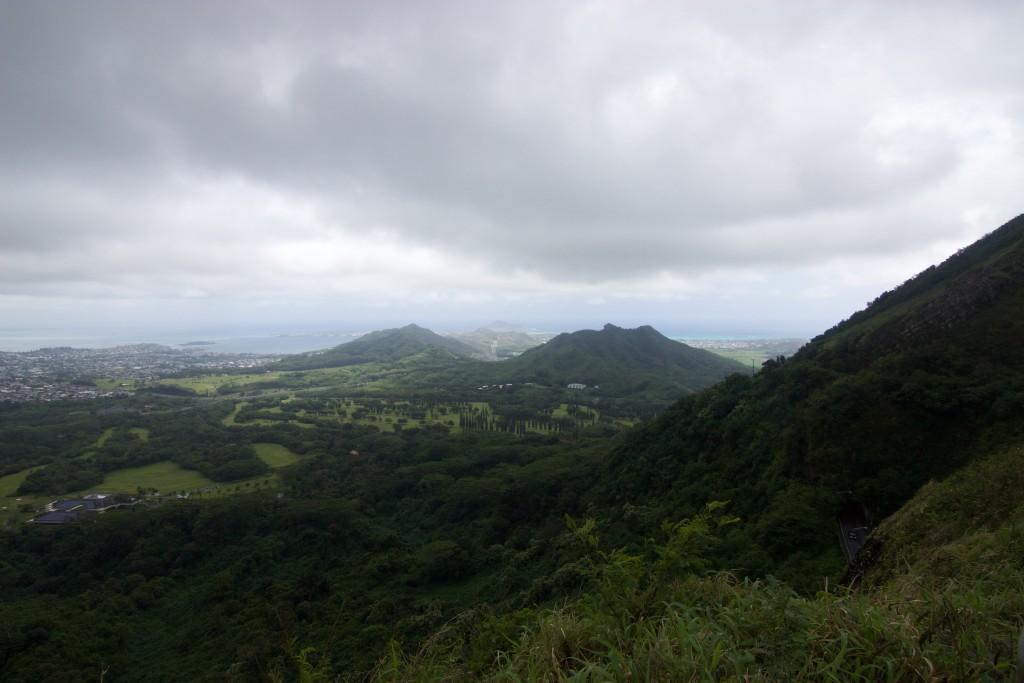 La Vista hacia Kailua