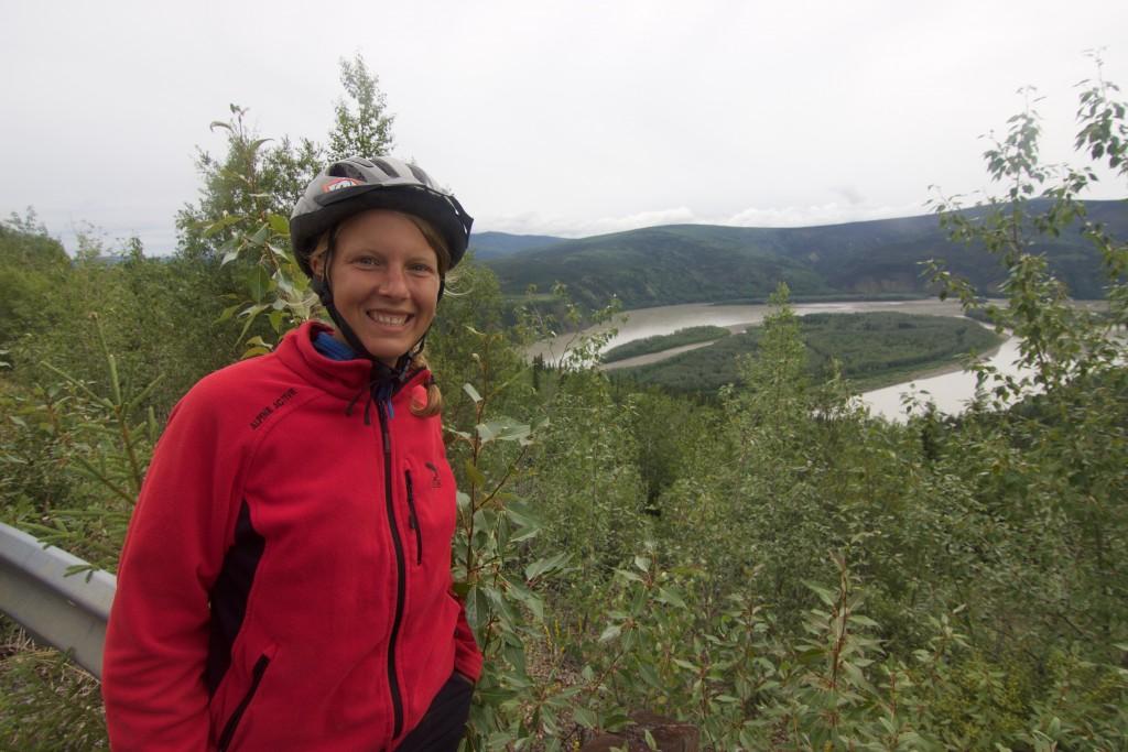 Viendo el Río Yukon