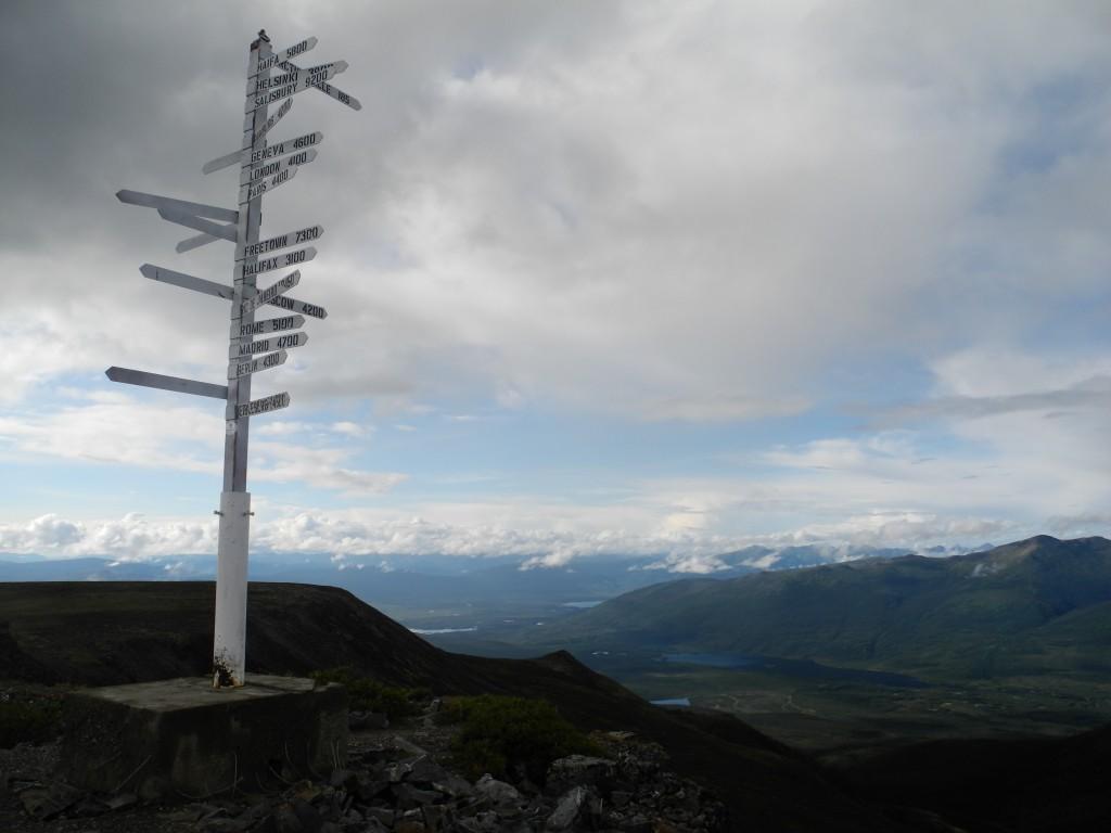 Keno's signpost
