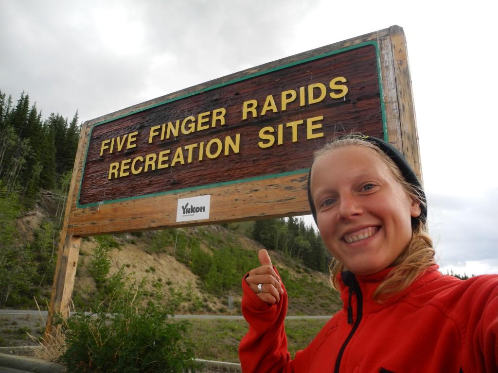 The five finger rapids