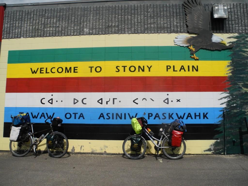 Cycling Stony Plain