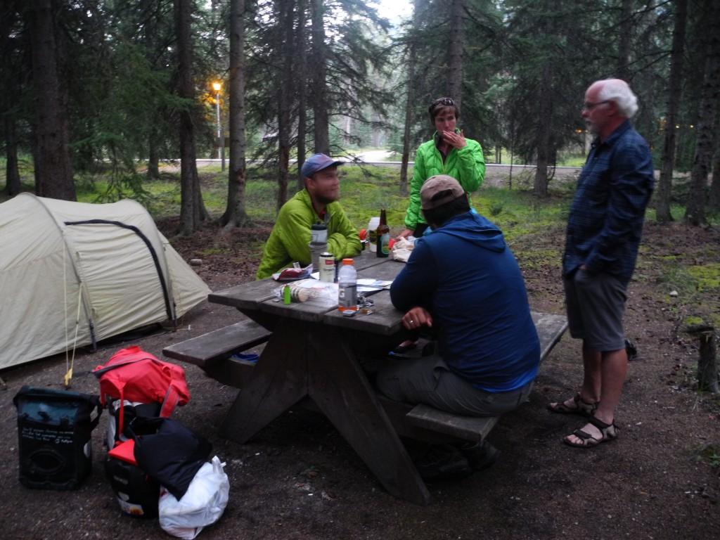 Nice Camping neighbors