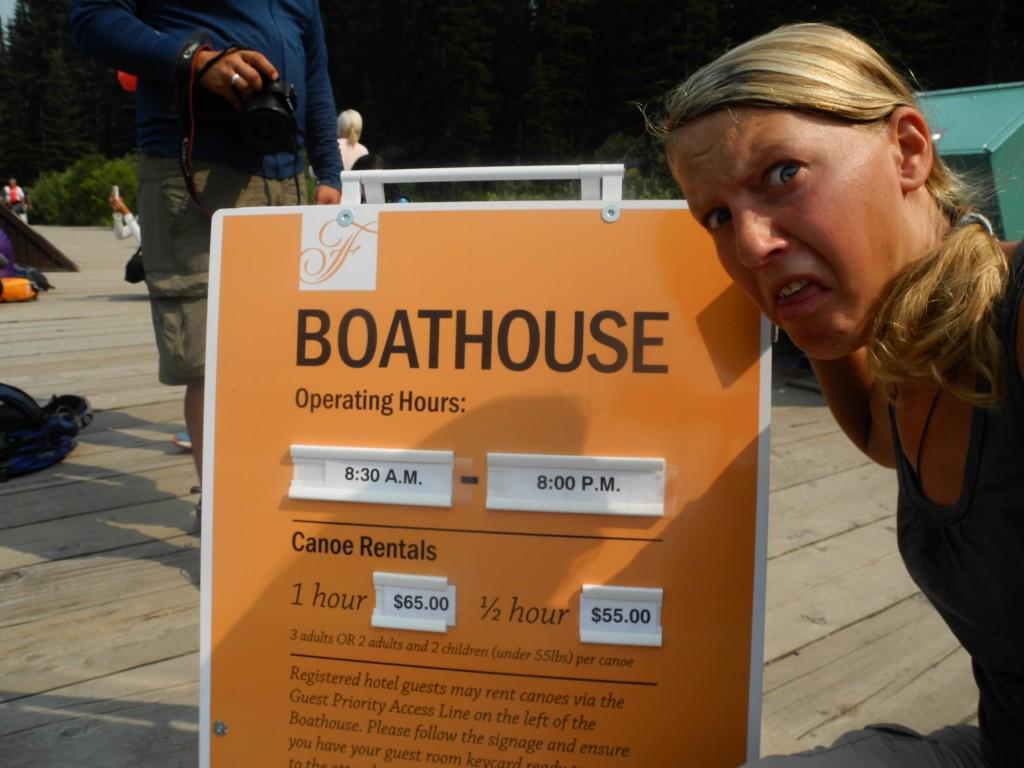 Crazy Prices for kayak rentals in Lake Louise