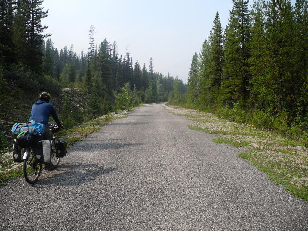 Great Divide Bike Path, Alberta and British Columbia, Canada