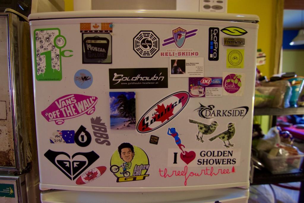 Find the Tasting Travels Sticker