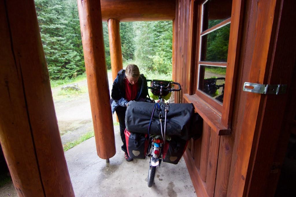 Camping in Illicillewaet