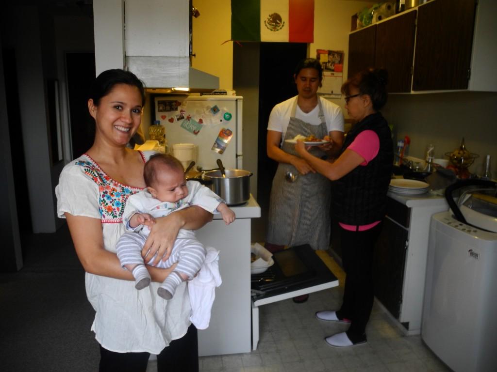 Joanna, Kin, Kenji and Yoshi