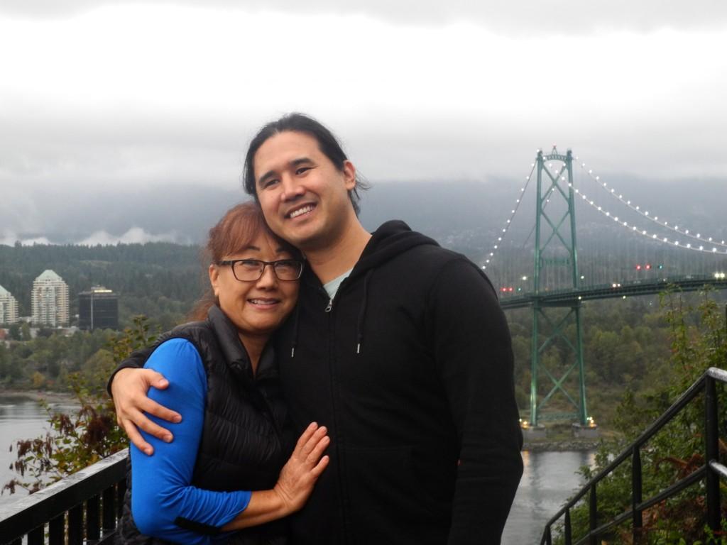 Yoshi and her son Kenji