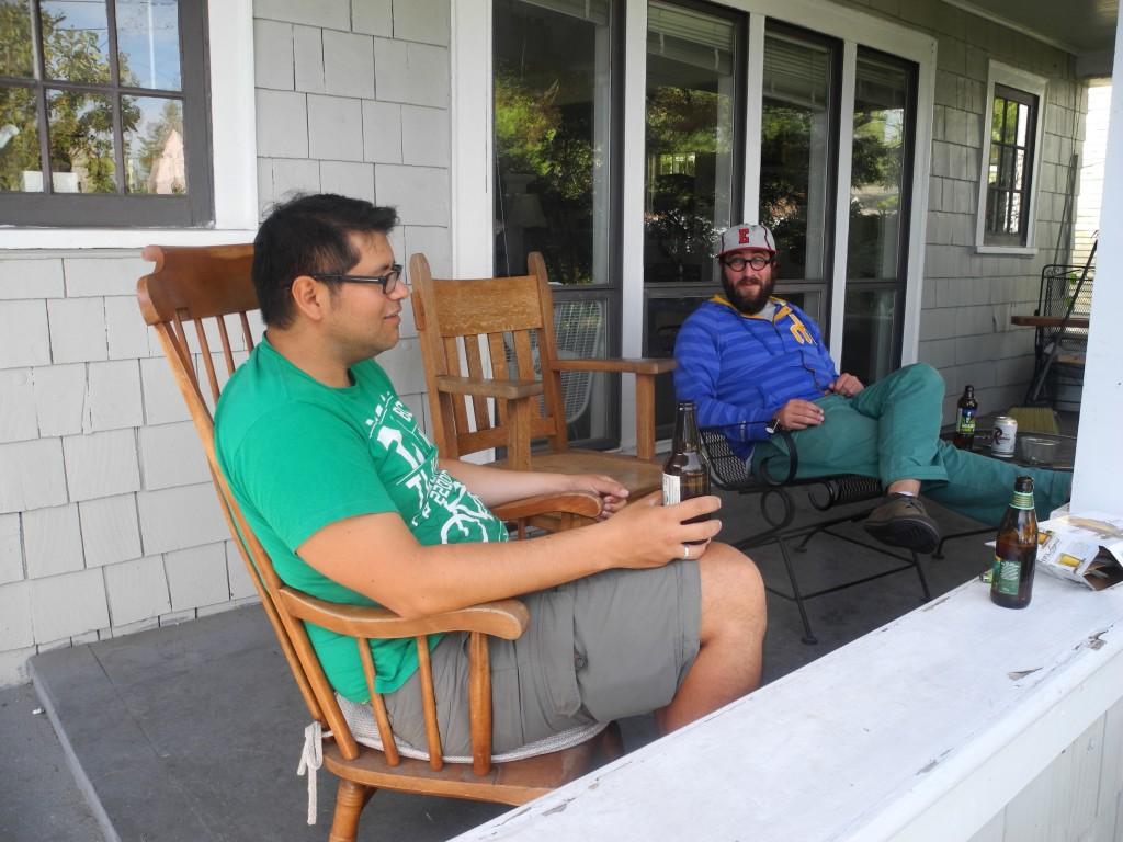 Ben's comfy deck